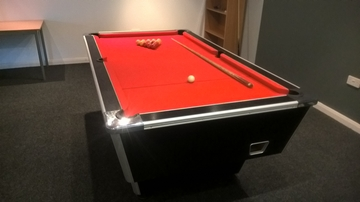 7ft Supreme pool table delivered to Teeside