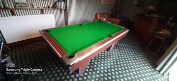 7ft Supreme pool table recovered in Drighlington nr - Leeds