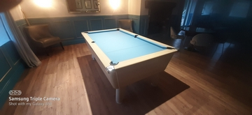 7ft pool table recover in Gisburn Park Lancashire