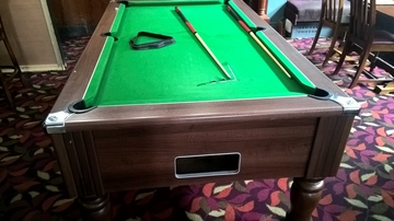 7ft pool table before