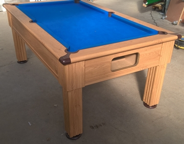 Supreme slimline pool table
