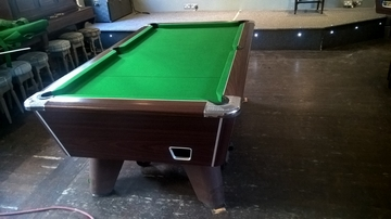 7ft Suprme Winner Pool Table Recovered