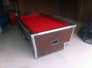 6ft pool table recover rawtenstall