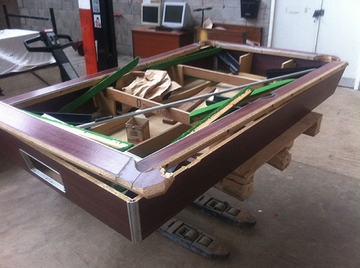 Pool Table to be Repaired
