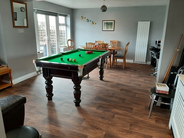 6ft Slstd bed snooker table in cleveleys
