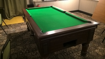7ft Pool Table Recover in Bishop Auckland, Teeside