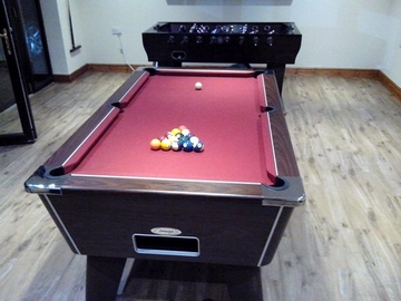6ft pool table recovered grange over sands