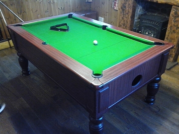 6ft pool table recovered in Colne