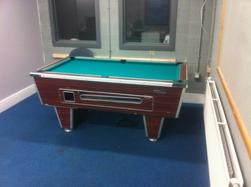6ft pool table recover youth club