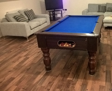 6ft pool table recover sandbach