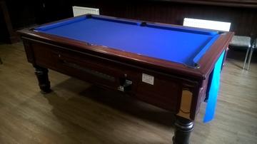 7ft Pool Table Recover Burneside