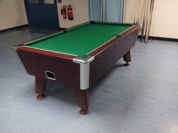 7ft pool table recovering in wigan