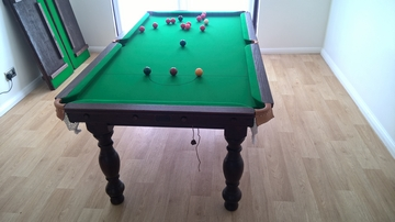6ft Snooker Diner Table delivered to St Bees, Cumbria