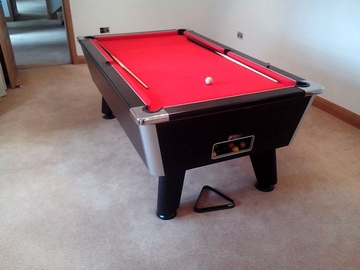 7ft pool table installed worsley