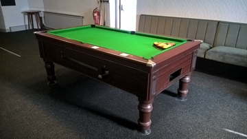 7ft Supreme Prince Pool Table Recover in Kirkby Stephen Cumbria