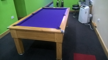 7ft pool table recover Hamlton Green York