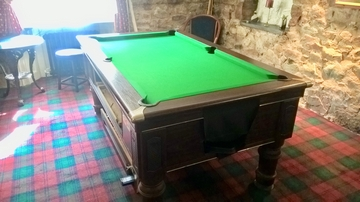 6ft Supreme Pool Table Recover in Gosforth