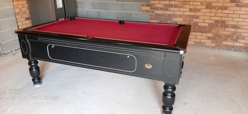 7ft Reconditioned pool table, stone