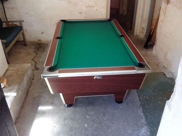 7ft pool table recover cumbria