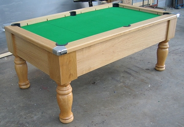 6ft oak pool table