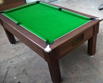 6ft slimline pool table