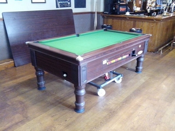 7ft pool table recovered clitheroe