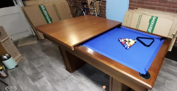 6ft Pool Dining Table delivered and set up in  to York