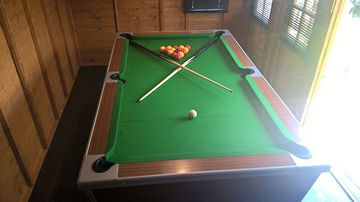 6ft pool table fitted in pontifract