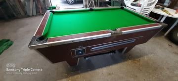 6ft Pool Table Refurbishment in Killington, Cumbria