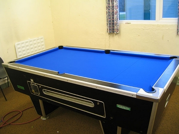 Caton Pool Table Recover Blue