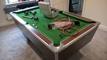 6ft pool table repair cheshire