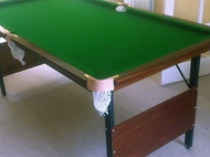 6ft Deluxe Foldaway Snooker Table