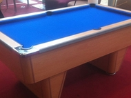 6ft Beech Pool Table Recover