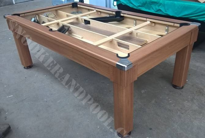 Refurbished Pool Tables Ft Slate Bed Pool Dining Table - Pool dining table 7ft