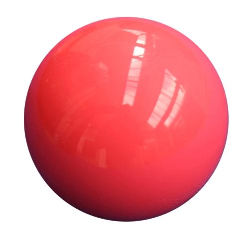 Single Pink Snooker Ball
