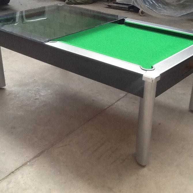 Refurbished pool tables 7ft slate bed diner pool table - Slate pool table ...