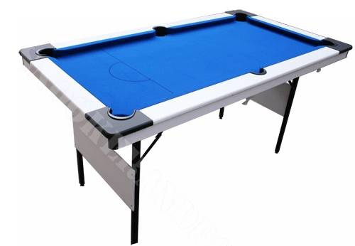 White Pro Pool Table