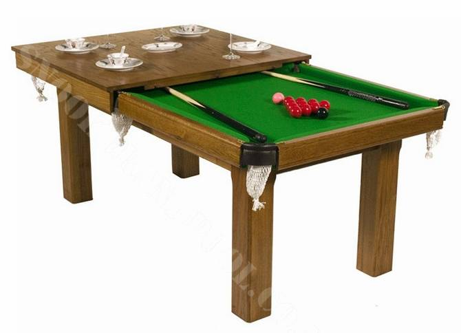 Our Latest Design Snooker Table Made From Solid Hardwood And Stained To  Almost Any Colour That You Prefer, Can Be Fitted With A Diner Top With A  Fixed ...