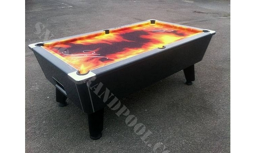 7ft Carbon Pool Table