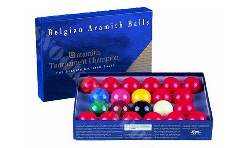 Tournament Snooker Balls 2.1/16""