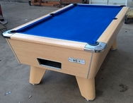 7ft Supreme Pool Table Winner Beech