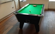 6ft Black Ash Coin Opperated Pool Table