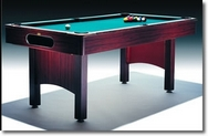 6ft Refurbished Folding Leg Pool Table