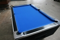 6ft Superleague Black Ash Pool Table