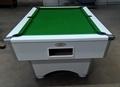 White Pool Table