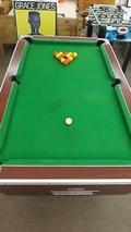 Refurbished 6ft Supreme Pool Table