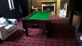 7ft Supreme Slate Bed Pool Table