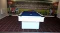 7ft Supreme Slim Line Pool Table