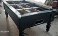 7ft Black Slate Bed Pool Table