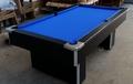 7ft Freeplay Black Pool Table